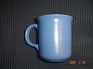 Dansk Blue Sky Mesa Mugs - Large Opening Handle - Portugal