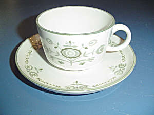 Franciscan Heritage Sets Of Cups And Saucers