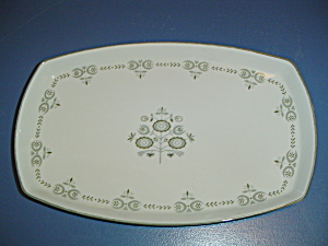 Franciscan Heritage Large Rectangular Platter
