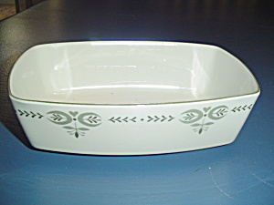Franciscan Oblong Serving Bowl