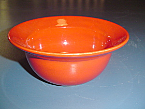 Pier 1 Rimmed Soup/cereal Bowls In The Red Pattern