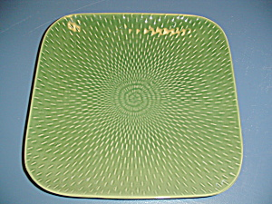 Baum Bros Boxstitch Square Dinner Plates