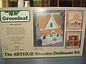 Vintage Greenhouse The Arthur Dollhouse Kit New In Box 1981