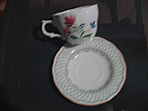 Nikko Hampton Cups And Saucers