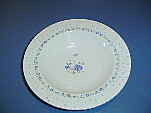 Mikasa Forget-me-not Rimmed Serving Bowl