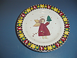 Sakura Debbie Mumm Gathering Of Angels Salad Plate Style 3