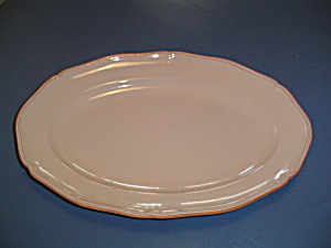Loneoak Huge Oval Platter Queen Anne Patttern