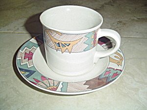 Mikasa Studio Nova Deer Run Cups And Saucers