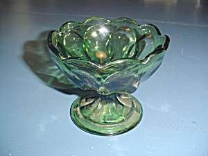 Vintage Indiana/anchor/other Vintage Maker Green Sherbet/champagne