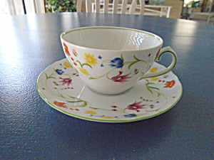 Denby Tea Party Cups And Saucers Made In Portugal