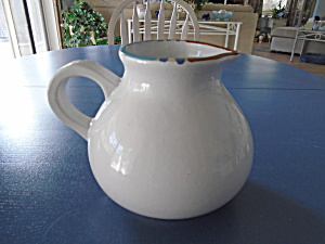 Dansk Mesa White Serving Pitcher