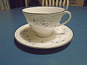 Royal Doulton Cotillion Cups And Saucers Vintage