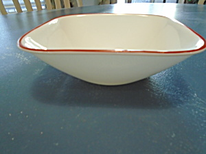 Corelle Kyoto Leaves Square Cereal Bowls