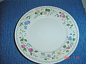 Farberware English Garden 225 Dinner Plates