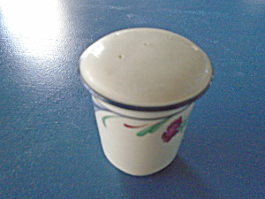 Lenox Poppies On Blue Pepper Shaker W/plug