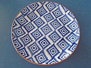 Noble Excellence Mykonos Terracotta Blue Salad Style 2