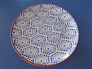 Noble Excellence Mykonos Terracotta Blue Salad Style 3