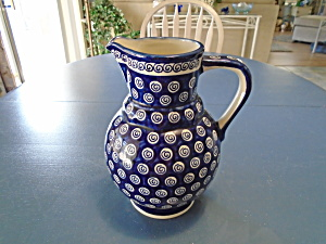 Boleslawiec A174 Serving Pitcher Mint