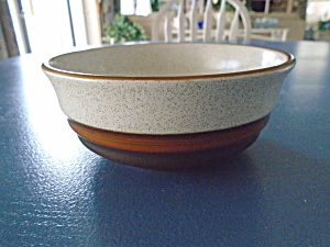 Denby Potters Wheel Rust Cereal/dessert Bowl