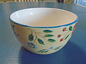 Pfaltzgraff Morning Glory Cereal Bowls