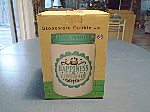 Cracker Barrel Happiness Is Homemade Cookie Jar New In Box