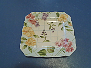 Noble Excellence Garden Trellis Square Salad Plates