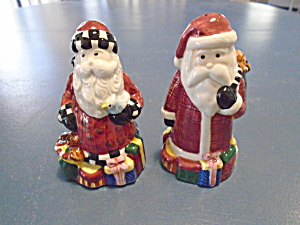 Sakura Magic Of Santa Salt And Pepper Shakers By Debbie Mumm