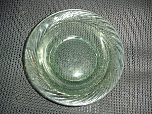 Corning/corelle Festiva Green Soup/cereal Bowls