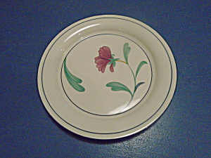Lenox Poppies On Blue Botanical Salad Plate