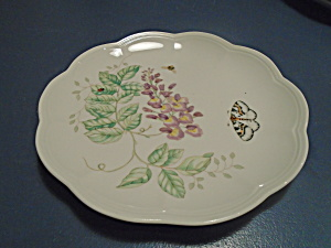 Lenox Butterfly Meadow Eastern Tailed Blue Lunch Plates