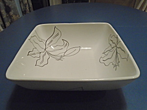 Laurie Gates Antilles White Large Square Salad/serving Bowl