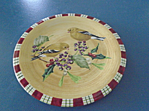 Lenox Winter Greetings Everyday Goldfinch Salad - Damaged