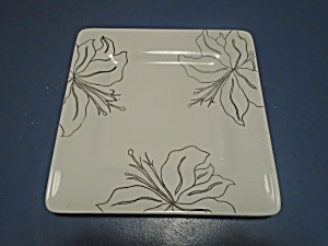 Laurie Gates Antilles White Lunch Plates