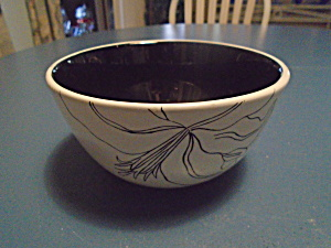 Laurie Gates Antilles White Cereal Bowl