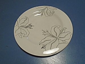 Laurie Gates Antilles White Round Salad/lunch Plates