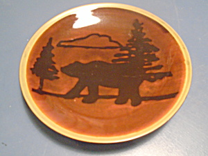 Mesa International Wilderness Bear Dinner Plate