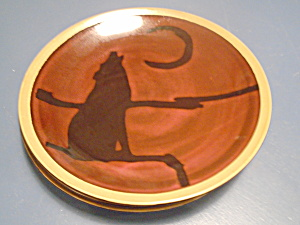 Mesa International Wilderness Coyote Dinner Plate