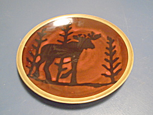Mesa International Wilderness Moose Dinner Plate