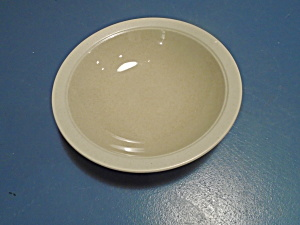 Mikasa Sand Piper Stone Craft Rimmed Soup Bowl