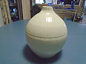 Imax Stoneware Vase Sea Green Made In Philippines