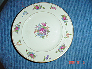 Rose Of Lamberton Bread And Butter Plates