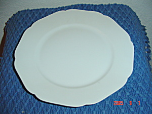 Johann Haviland White/platinum Trim Bread Plates