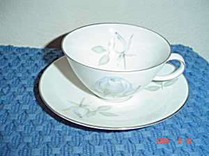 Rosenthal Blue Roses Cups And Saucers