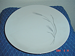 Johann Haviland Silver Wheat Dinner Plates
