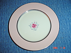 Flintridge Petal Pink Rose Salad Plates