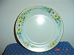Nippon Hand Painted Daisy Design Salad Plates