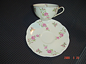 Theodore Haviland Delaware Cups And Saucers