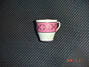 Aynsley Pink And White Demi Cup