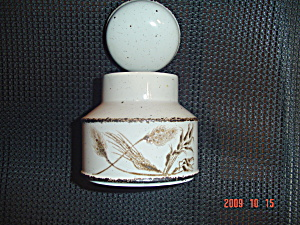Wedgwood Midwinter Wild Oats Covered Sugar Bowl