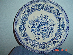 The Bombay Company China Decorator Plate #3